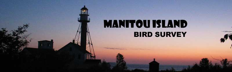 Manitou Island Bird Survey